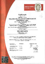 Certificação Valcon