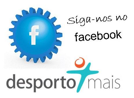 A Desporto Mais est� no facebook! - J� fez um Like?