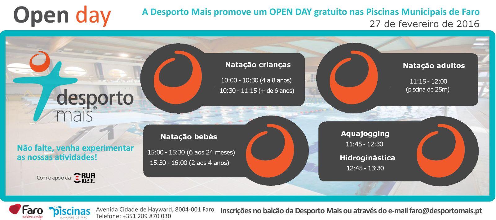 Open day Faro