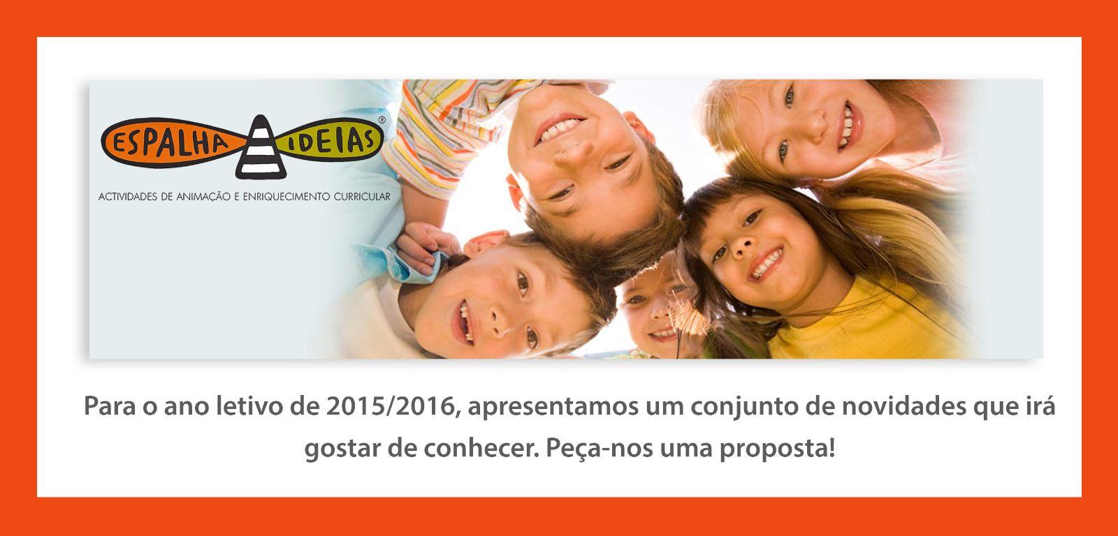 Pe�a-nos uma proposta para 2015/2016