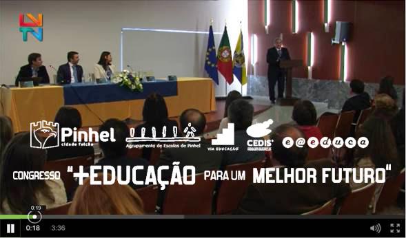 Reportagem Congresso + EDUCAÇÃO para um MELHOR FUTURO