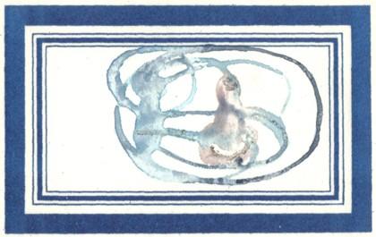 aguarelas azuis